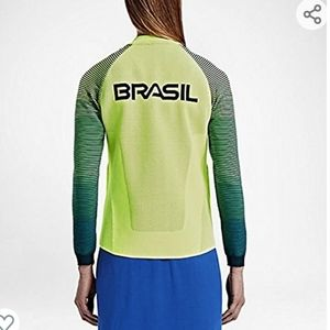 Nike Womens Volt Team Brasil Dynamic Reveal Jacket